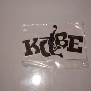 Kobe Bryant Car Sticker